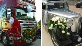 Fiori per Macchina-Matrimonio Vicenza